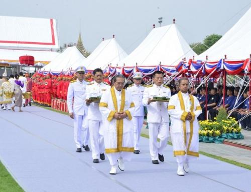 อสป.เข้าร่วมพระราชพิธีพืชมงคลจรดพระนังคัลแรกนาขวัญ  ปีพุทธศักราช 2562 ทำขวัญธัญญาหารพืชพันธุ์  มอบความเชื่อมั่นสู่เกษตรกรไทย