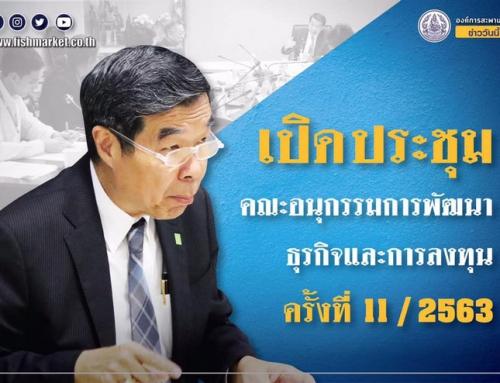 การประชุมคณะอนุกรรมการพัฒนาธุรกิจและการลงทุน ครั้งที่ 11 /2563